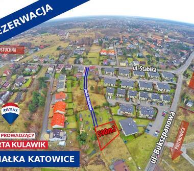 Działka w Katowicach idealna na wymarzony dom