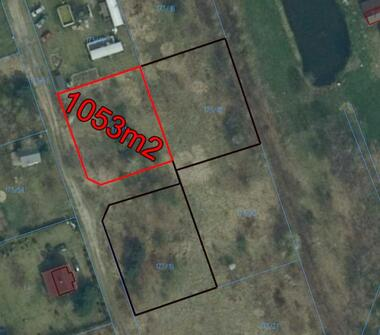 Atrakcyjna działka usługowo-budowlana w pobliżu jeziora 60 zł/m2 gruntu.