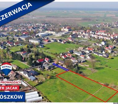 Działka budowlana Prószków k/Opola