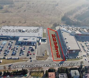 Atrakcyjna Działka Inwestycyjna  przy Centrum Handlowm - 75 % Zabudowy