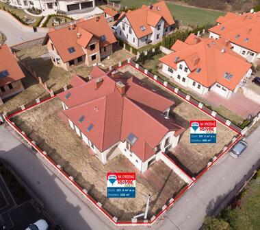Stylowy dom w Michałowicach  - Kraków - Segment Narożny
