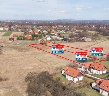 Działka Pod Nowe Osiedle Domów - 10.273 m2