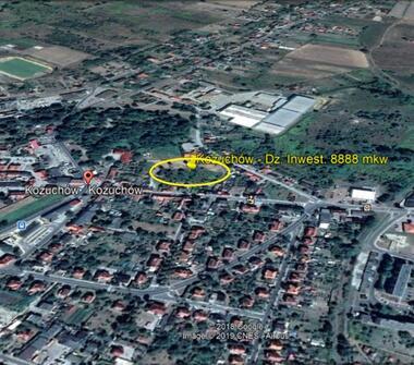 Działka 8888m2 pod Handel/Usługi – Kożuchów (Lubuskie)