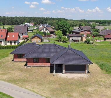 Nowy dom w stanie surowym zamkniętym – 8 km od Tychów