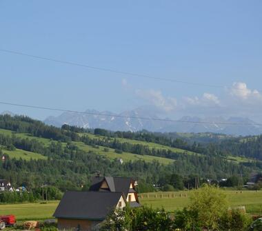 Dom z dużą działką i piękną panoramą na Tatry