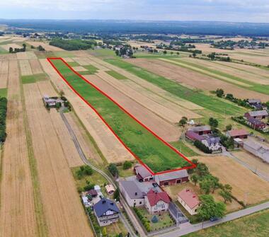 Duża działka rolna 2,4 ha w Pińczycach