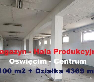 Magazyny - Hala 1100 m2 ! z Działką 4396 m2 ! Świetna Lokalizacja
