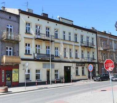 Kamienica Będzin Śródmieście.