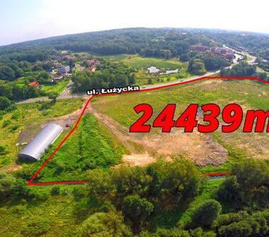Teren inwestycyjny o pow. 24439m2 (pełna własność) idealny pod wielkopowierzchniowy obiekt han...